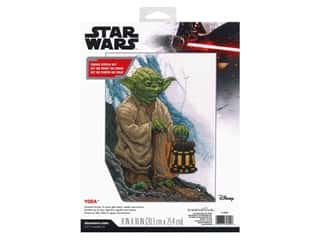 "Dimensions Cross Stitch Kit 8""x 10"" Disney Star Wars Yoda"