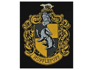 Camelot Dotz Diamond Painting Kit Hufflepuff Crest