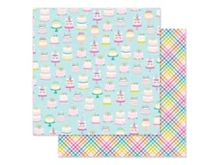 """scrapbooking & paper crafts: Simple Stories Magical Birthday Paper 12""""x 12"""" Make A Wish (25 pieces)"""