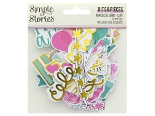 scrapbooking & paper crafts: Simple Stories Magical Birthday Bits & Pieces
