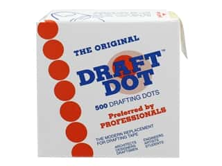 glues, adhesives & tapes: Pro Art Drafting Dot Original DD-1 500/Roll Bulk (12 pieces)