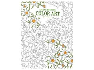 Leisure Arts Spring Wonders Color Art For Everyone Coloring Book