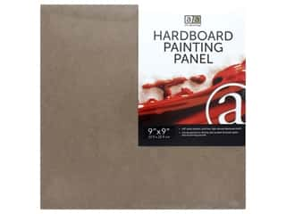 "Art Advantage Hardboard Painting Panel 9""x 9"""