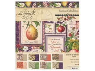 "scrapbooking & paper crafts: Graphic 45 Fruit & Flora Paper Pad 8""x 8"""
