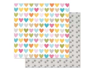 "Bella Blvd Collection Chloe Paper 12""x 12"" Heart Warmer (25 pieces)"