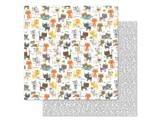 "Bella Blvd Collection Chloe Paper 12""x 12"" Cat Crazy (25 pieces)"