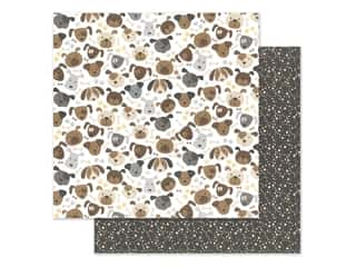 "Bella Blvd Collection Cooper Paper 12""x 12"" Puppers (25 pieces)"