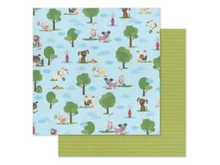 "Bella Blvd Collection Cooper Paper 12""x 12"" Dog Park (25 pieces)"