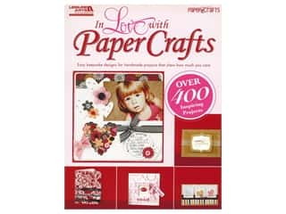 books & patterns: Leisure Arts Craft In Love With Paper Crafts Book