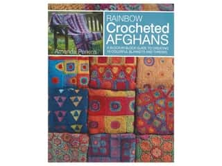 books & patterns: Leisure Arts Rainbow Crocheted Afghans Book