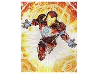 Camelot Dotz Diamond Painting Kit Iron Man Blast