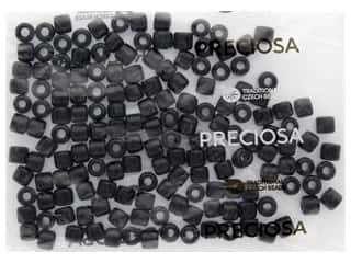 craft & hobbies: John Bead Czech Rola Bead 7.7mm Opaque Black