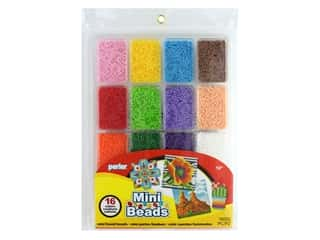 beading & jewelry making supplies: Perler Fused Bead Large Tray Mini Bead Summer