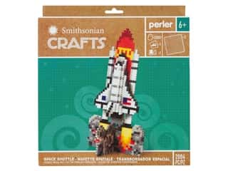 craft & hobbies: Perler Fused Bead Kit Box Smithsonian Crafts Space Shuttle