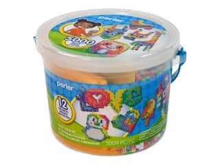 beading & jewelry making supplies: Perler Fused Bead Kit Bucket Small Tie Dye