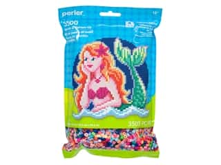 beading & jewelry making supplies: Perler Fused Bead Kit Pattern Bag Mermaid