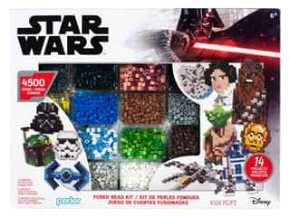 beading & jewelry making supplies: Perler Fused Bead Kit Box Deluxe Star Wars