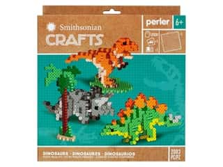 Perler Fused Bead Kit Box Smithsonian Crafts Dinosaur