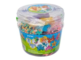 beading & jewelry making supplies: Perler Fused Bead Kit Bucket Large Mermaid
