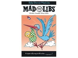 books & patterns: Price Stern Sloan Baby Shower Mad Libs Book