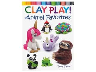 Dover Publications Clay Play Animal Favorites Book
