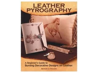 Fox Chapel Publishing Leather Pyrography Book