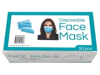 PA Essentials Face Mask Disposable 50pc Box