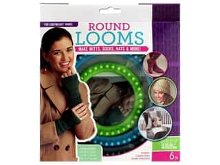 yarn & needlework: Leisure Arts Loom Circular Set Fine With Hook