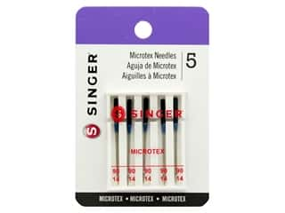 Singer Machine Needle Microtex Size 90/14 5pc