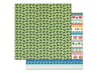 "Doodlebug Collection Bar-B Cute Paper 12""x 12"" Picnic Parade (25 pieces)"