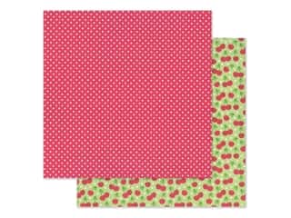 """scrapbooking & paper crafts: Doodlebug Collection Bar-B Cute Paper 12""""x 12"""" Cherry Sweet (25 pieces)"""