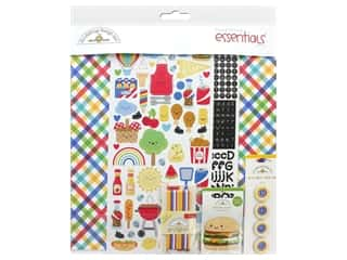 Doodlebug Collection Bar-B Cute Essentials Kit