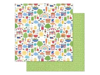 "Doodlebug Collection Bar-B Cute Paper 12""x 12"" (25 pieces)"