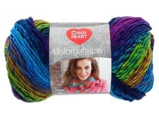 Yarn: Coats & Clark Red Heart Unforgettable Yarn 3.5oz Gossamer 280yd (3 yards)