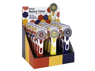 Tacony Sew Tasty Rotary Cutter 45mm POP Assorted 15pc