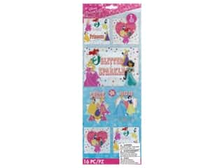 EK Disney Sticker Specialty Glitter Princess