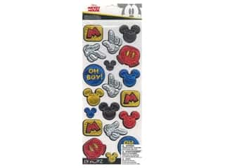 EK Disney Sticker Specialty Emboss Mickey