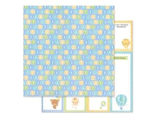 "Doodlebug Collection Special Delivery Paper 12""x 12"" Baby Blocks (25 pieces)"