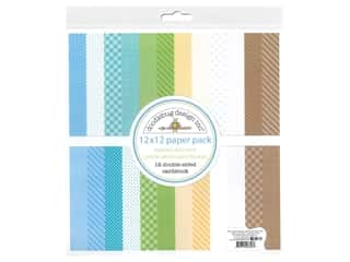 "Doodlebug Collection Special Delivery Paper Pack 12""x 12"" Petite Print"