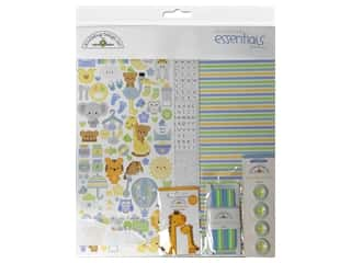 scrapbooking & paper crafts: Doodlebug Collection Special Delivery Essentials Kit