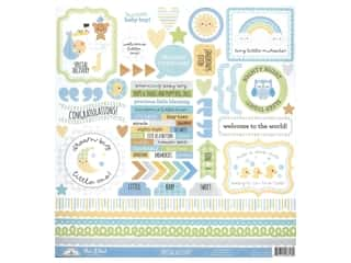Doodlebug Collection Special Delivery Sticker This & That (12 pieces)