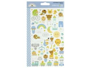 Doodlebug Mini Icons Stickers - Special Delivery