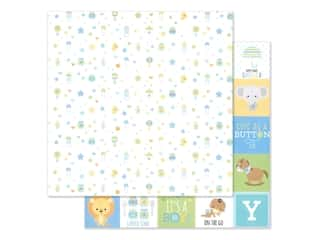 "Doodlebug Collection Special Delivery Paper 12""x 12"" Little One (25 pieces)"