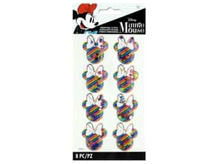EK Disney Sticker 3D Shaker Rainbow Minnie