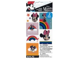 EK Disney Sticker Minnie Rainbow