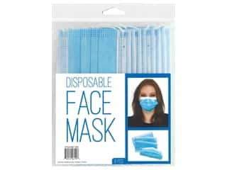 craft & hobbies: PA Essentials Disposable Face Mask 8 pc.