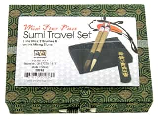 Art Advantage Sumi Ink & Brush Set 4 pc.