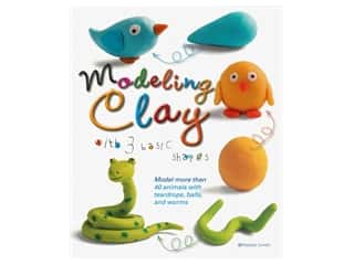 books & patterns: B. E. S. Publishing Modeling Clay With 3 Basic Shapes Book