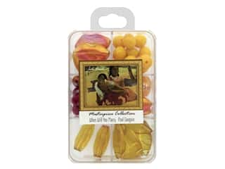 John Bead Glass Bead Masterpiece Collection Box Mix When Will You Marry - Paul Gaugin