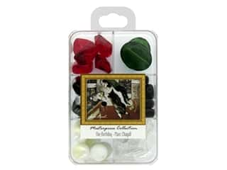 beading & jewelry making supplies: John Bead Glass Bead Masterpiece Collection Box Mix The Birthday - Marc Chagall